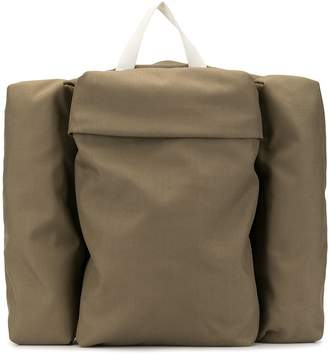 Jil Sander side pockets backpack