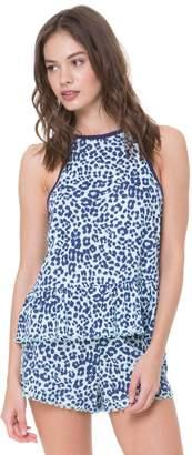Juicy Couture Ruffle Crop Cami & Short Set