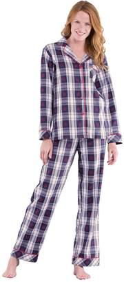 LG Electronics PajamaGram Pajamas for Women Plaid - Flannel Pajamas Women