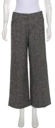 Chanel Tweed Mid-Rise Pants