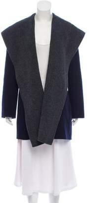 Vince Wool Open Front Coat