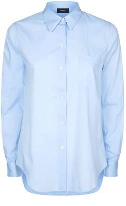 Theory Patch Pocket Collar Shirt