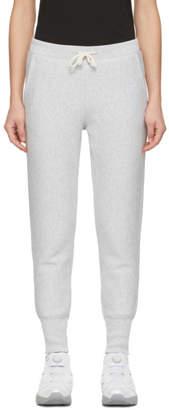 Champion Reverse Weave Grey Rib Cuff Lounge Pants