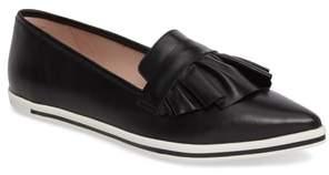 JAMES CHAN Taraji Ruffle Slip-On Sneaker