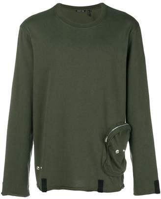 Helmut Lang zip pouch sweatshirt