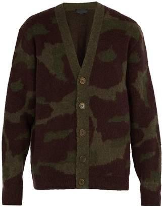 Stella McCartney Leopard-print wool-blend cardigan
