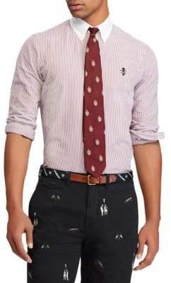Polo Ralph Lauren Stripe Cotton Oxford Button-Down Shirt