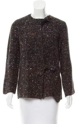 Raquel Allegra Wool & Alpaca-Blend Cardigan w/ Tags
