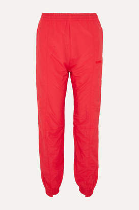 Vetements Paneled Shell Track Pants - Red