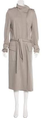 Thomas Wylde Knit Long Coat