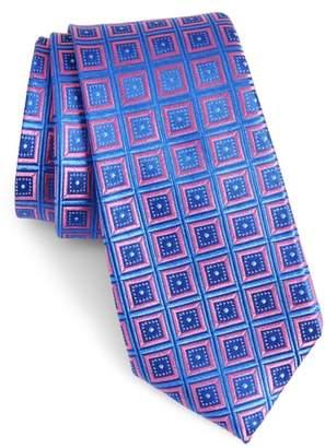 Nordstrom Sublime Squares Geometric Silk Tie