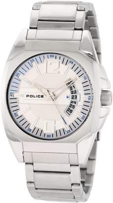Police Men's PL-12897JS/04M Interstate Dial Stainless-Steel Bracelet Watch