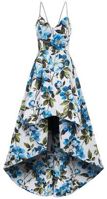 Alice + Olivia Joss High-Low Gown