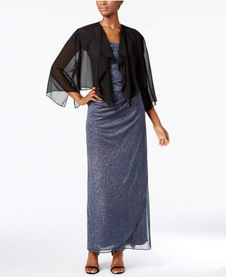 Alex Evenings Chiffon Cover Up