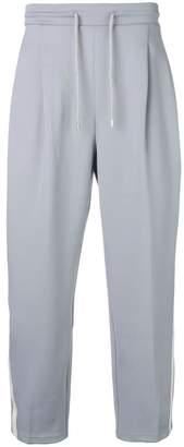 Ader Error cropped track pants