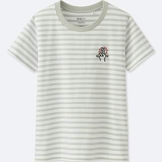 Uniqlo Women's Sprz Ny Keith Haring Graphic T-Shirt