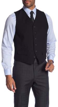 Ben Sherman Solid Front Button Vest