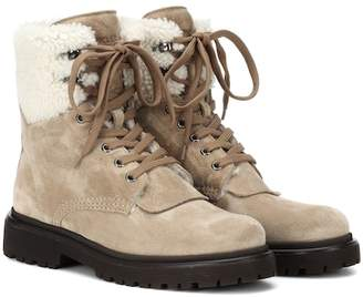 057669ff38ad Moncler Suede Boots For Women - ShopStyle Canada