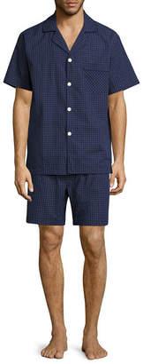 STAFFORD Stafford Broadcloth Pajama Set - Big & Tall