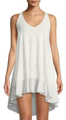 Skin Bettina High-Low Cotton Nightgown