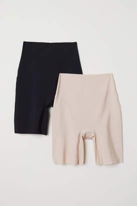 H&M 2-pack Light Shaping Shorts - Black
