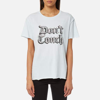 Juicy Couture Women's Juicy By Juicy Don't Touch Embellished T-Shirt