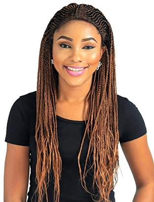 Fulani Cornrow Braid Wig - Color 30-22 inches
