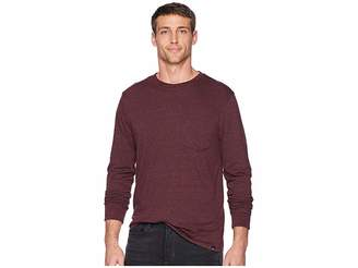 Threads 4 Thought Baseline Tri-Blend Long Sleeve Pocket Tee