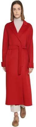 Belted Long Wool Coat