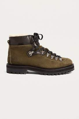 Urban Outfitters Baxter Sherpa Hiker Boot