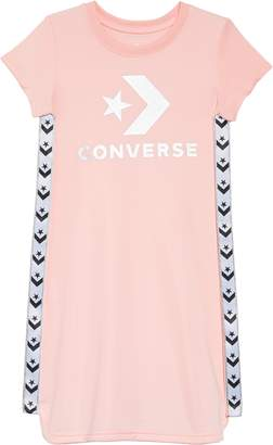 Converse Star & Chevron Logo Track Dress