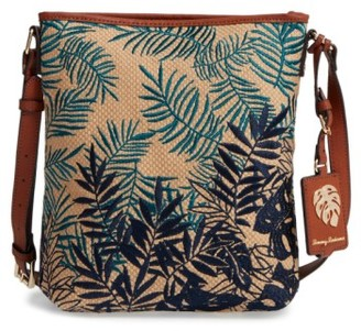 Tommy Bahama Palm Beach Crossbody Bag - Green $98 thestylecure.com