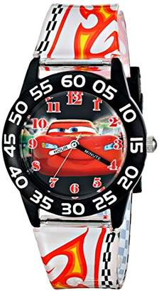 Disney Kids' W001682 Lightning McQueen Plastic Watch