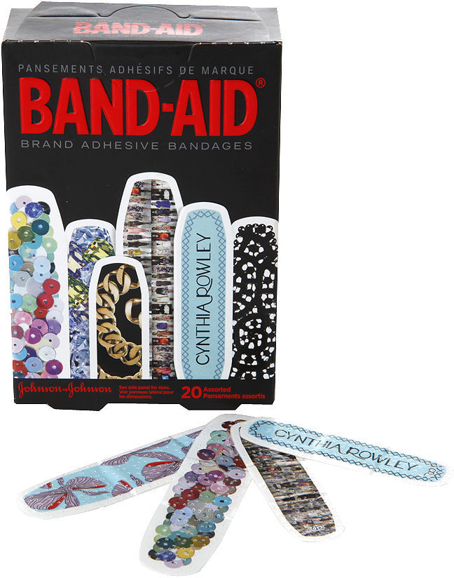 Cynthia Rowley Band-Aid by Cynthia Rowley, Adhesive Bandages, Assorted Sizes 20 ea