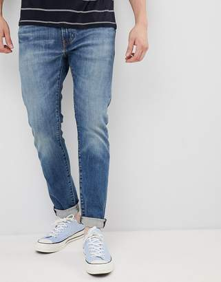 Levi's 512 slim tapered low rise jeans in zonkey light wash