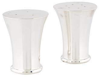 ChristofleChristofle Silverplate Salt & Pepper Shakers
