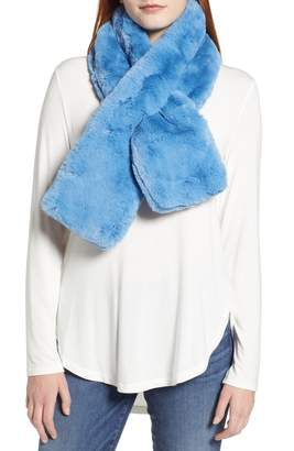 Ted Baker Faux Fur Pull Through Scarf