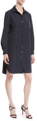 Finley Alex Long-Sleeve Button-Front Shirtdress