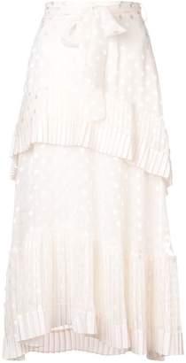 Zimmermann pleated tier skirt