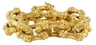 Tiffany & Co. 18K Bamboo Bracelet