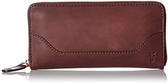 Frye Melissa Zip Around Leather Wallet