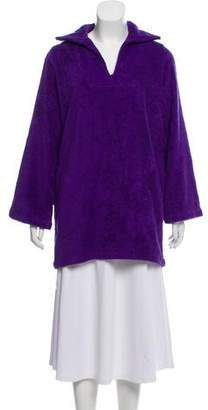 Lisa Marie Fernandez Terry Cloth Cover-Up