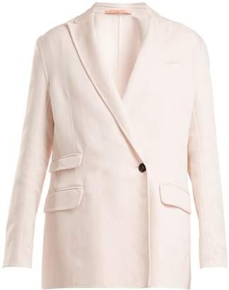 SUMMA Oversized peak-lapel jacket