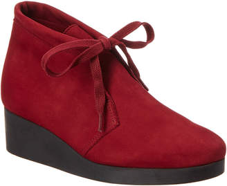 Arche Hablo Leather Wedge Bootie