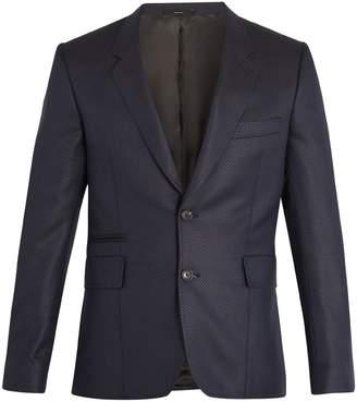 Paul Smith Notch-lapel wool and silk-blend blazer