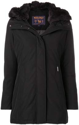 Woolrich fur hood trim padded jacket