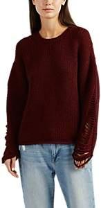 IRO Women's Vasily Wool-Blend Sweater - Wine Size Xs
