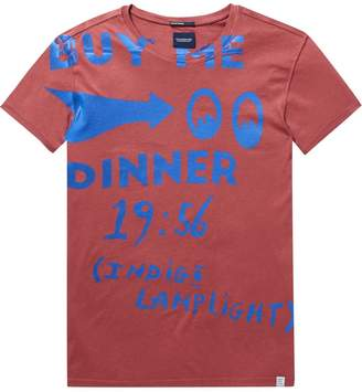 Scotch & Soda Poster Text Tee