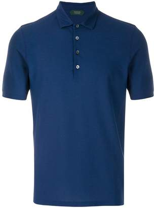 Zanone short sleeved polo shirt