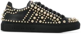 Philipp Plein studded low top sneakers